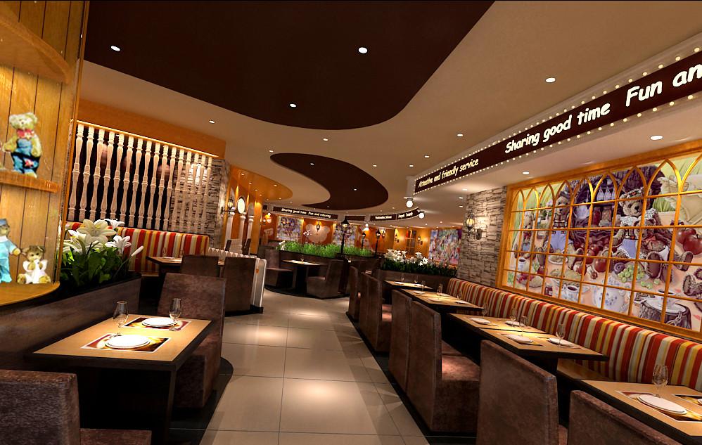 武汉街道口餐厅设计